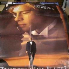Cine: PÓSTER ORIGINAL DE 100X70CM ¿CONOCES A JOE BLACK ?. Lote 74109647