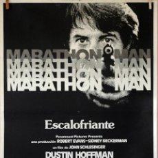 Cine: MARATHON MAN. DUSTIN HOFFMAN-LAWRENCE OLIVIER. CARTEL ORIGINAL 1976. 100X70. Lote 74179979