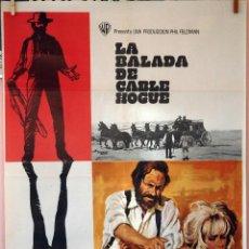 Cine: LA BALADA DE CABLE HOGUE. SAM PECKIMPAH-JASON ROBARDS-STELLA STEVENS. CARTEL ORIGINAL 1970. Lote 74180899