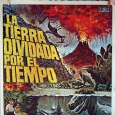 Cine: LA TIERRA OLVIDADA POR EL TIEMPO. CARTEL ORIGINAL 1978. 100X70. Lote 74181267