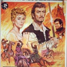 Cine: AVENTURAS DE QUINTIN DURWARD. ROBERT TAYLOR. CARTEL ORIGIAL 1981. 100X70. Lote 74181599