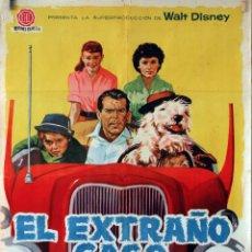 Cine: EL EXTRAÑO CASO DE WILBY. FRED MACMURRAY. CARTEL ORIGINAL 1960. Lote 74323079