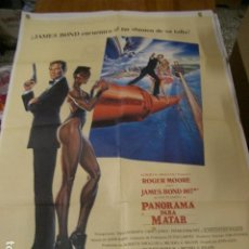 Cine: JAMES BOND, AGENTE 007 PANORAMA PARA MATAR POSTER ORIGINAL 70X100CM. Lote 74479075