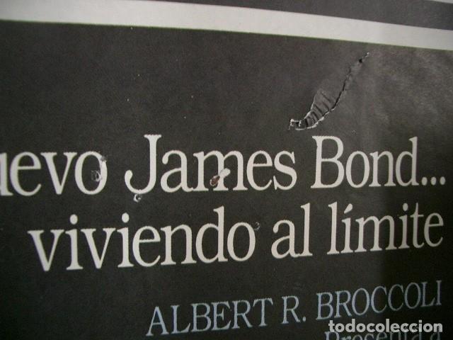 Cine: Poster original de 70x100cm ALTA TENSIÓN , 007 James Bond - Foto 3 - 74479639