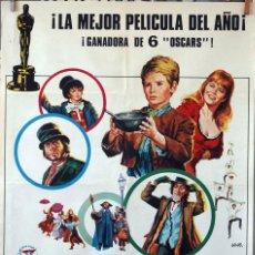 Cine: OLIVER. CAROL REED. CARTEL ORIGINAL 1968. 100X70. Lote 74689251