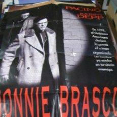 Cine: PÓSTER ORIGINAL DE 100X70CM JONNIE BRASCO. Lote 74900199