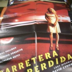 Cine: PÓSTER ORIGINAL DE 100X70CM CARRETERA PERDIDA, DE DAVID LYNCH. Lote 211446697