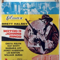 Cine: MATAD A JOHNNY RINGO. CARTEL ORIGINAL 1972. 100X70. Lote 74976315
