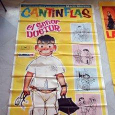 Cine: EL SEÑOR DOCTOR. CANTINFLAS. CARTEL ORIGINAL 1,00X2,00M .. Lote 75028275