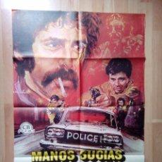 Cine: A- POSTER DE LA PELICULA-MANOS SUCIAS SOBRE LA CIUDAD. Lote 75057743