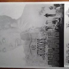 Cine: CARTEL PELICULA PSICOSIS (1960). Lote 75107419