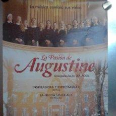 Cine: LA PASIÓN DE AGUSTINE. CARTEL DE CINE. . Lote 75198331