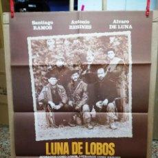 Cine: LUNA DE LOBOS,ANTONIO RESINES- CARTEL DE CINE . Lote 112606900