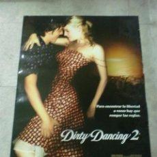 Cine: CARTEL DE CINE. DIRTY DANCING 2. 100 X 70 CM. Lote 75443103