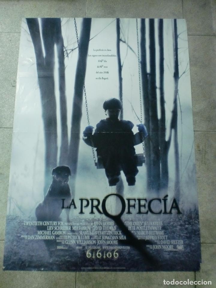 CARTEL DE CINE. LA PROFECIA. 100 X 70 CM (Cine - Posters y Carteles - Terror)