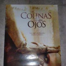 Cine: CARTEL DE CINE. LAS COLINAS TIENEN OJOS. 100 X 70 CM.. Lote 75443515