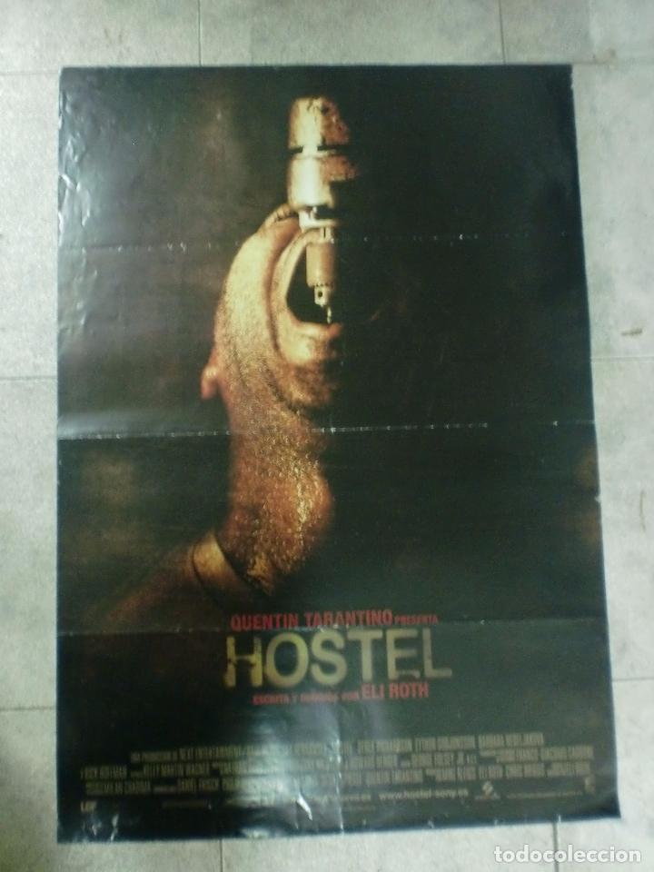 CARTEL DE CINE. HOSTEL. 100 X 70 CM. (Cine - Posters y Carteles - Terror)