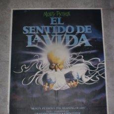 Cine: CARTEL DE CINE. EL SENTIDO DE LA VIDA. 100 X 70 CM.. Lote 75449539