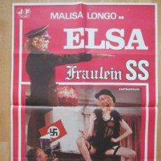 Cine: CARTEL CINE, ELSA FRAULEIN SS, PATRIZIA GORI, PAMELA STANFORD, 1978, C307. Lote 254266900