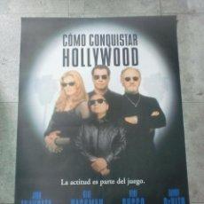 Cine: CARTEL DE CINE. COMO CONQUISTAR HOLLYWOOD. 98,5 X 70CM. Lote 75666819