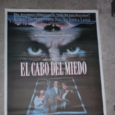 Cine: CARTEL DE CINE ORIGINAL. EL CABO DEL MIEDO. 99 X 70 CM. Lote 128292683
