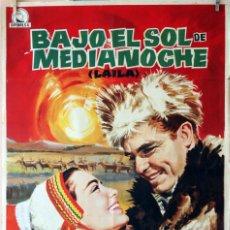 Cine: BAJO EL SOL DE MEDIANOCHE. CARTEL ORIGINAL 70X100. Lote 75785855