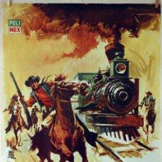 Cine: EL ROBO AL TREN CORREO. CARTEL ORIGINAL 1965. 70X100. Lote 75847519