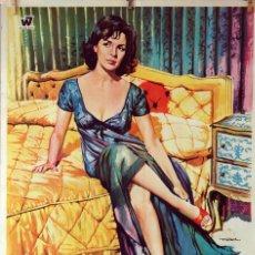 Cine: CONFIDENCIAS DE MUJER. JANE FONDA-SHELLEY WINTERS. CARTEL ORIGINAL 1970. 70X100. Lote 75847879
