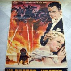 Cine: LOS CUATRO JINETES DEL APOCALIPSIS. GLENN FORD-CHARLES BOYER. CARTEL ORIGINAL 100X180CM. Lote 75850979