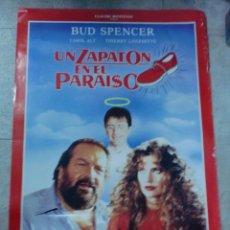 Cine: CARTEL DE CINE ORIGINAL. UN ZAPATON EN EL PARAISO. 98 X 68 CM. Lote 75945183