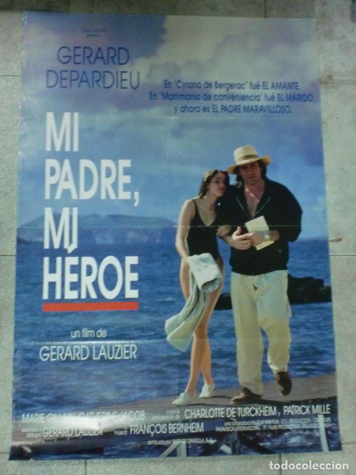CARTEL DE CINE ORIGINAL. MI PADRE, MI HEROE. 95 X 67 CM. (Cine- Posters y Carteles - Drama)