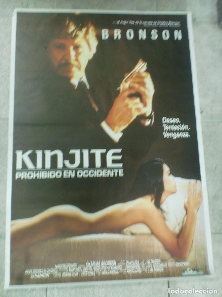 CARTEL DE CINE ORIGINAL. KINJITE. 99 X 70 CM. (Cine- Posters y Carteles - Drama)