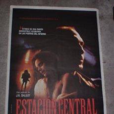 Cine: CARTEL DE CINE ORIGINAL. ESTACIÓN CENTRAL. 99 X 70 CM.. Lote 75952931