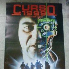 Cine: CARTEL DE CINE ORIGINAL. CURSO 1990. 99 X 70 CM. Lote 75976579