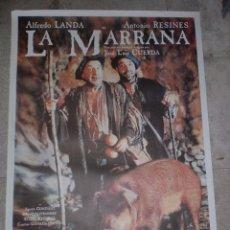 Cine: CARTEL DE CINE ORIGINAL. LA MARRANA. 99 X 70 CM. Lote 75976727