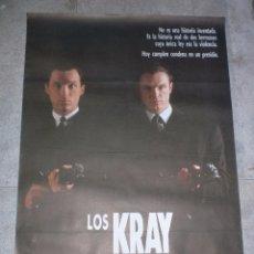 Cine: CARTEL DE CINE ORIGINAL. LOS KRAY. 99 X 70 CM. Lote 75978063