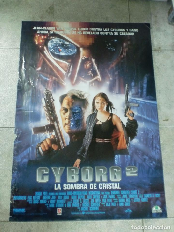 CARTEL DE CINE ORIGINAL. CYBORG 2. 99 X 70 CM (Cine - Posters y Carteles - Ciencia Ficción)