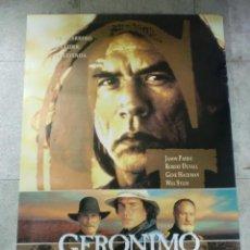 Cine: CARTEL DE CINE ORIGINAL. GERONIMO. UNA LEYENDA. 99 X 70 CM. Lote 75983639
