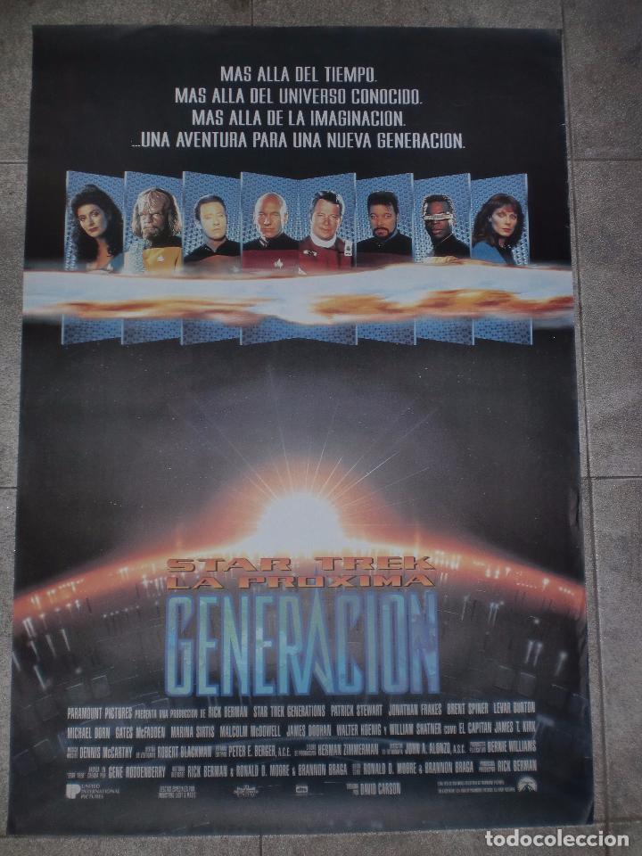 CARTEL DE CINE ORIGINAL. STARK TREK. LA PROXIMA GENERACIÓN. 99 X 70 CM (Cine - Posters y Carteles - Ciencia Ficción)