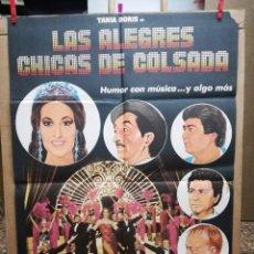 Cine: LAS ALEGRES CHICAS DE COSLADA.TANIA DORIS.. Lote 76068899