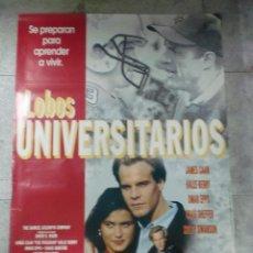 Cine: CARTEL DE CINE ORIGINAL. LOBOS UNIVERSITARIOS. 99 X 70 CM.. Lote 76069751