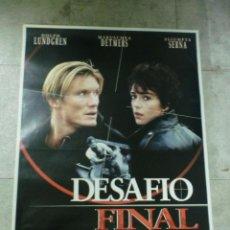 Cine: CARTEL DE CINE ORIGINAL. DESAFIO FINAL. 99 X 70 CM.. Lote 76070475