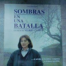 Cine: CARTEL DE CINE ORIGINAL. SOMBRAS EN UNA BATALLA. 99 X 70 CM.. Lote 76070915