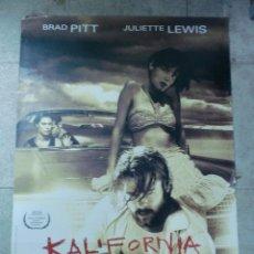 Cine: CARTEL DE CINE ORIGINAL. KALIFORNIA. 99 X 70 CM.. Lote 76082707