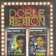 Cine: DVD - DOBLE SESION - DOS PELICULAS AL PRECIO DE UNA - NUEVA - PRECINTO - 2 SCANS. Lote 76193523