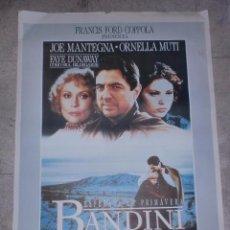 Cine: CARTEL DE CINE ORIGINAL. BANDINI. 99 X 70 CM.. Lote 76211007