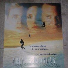 Cine: CARTEL DE CINE ORIGINAL. ARENAS BLANCAS. 99 X 70 CM. Lote 76284739