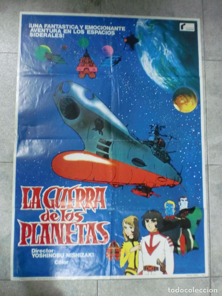 CARTEL DE CINE ORIGINAL. LA GUERRA DE LOS PLANETAS. 99 X 70 CM (Cine - Posters y Carteles - Ciencia Ficción)