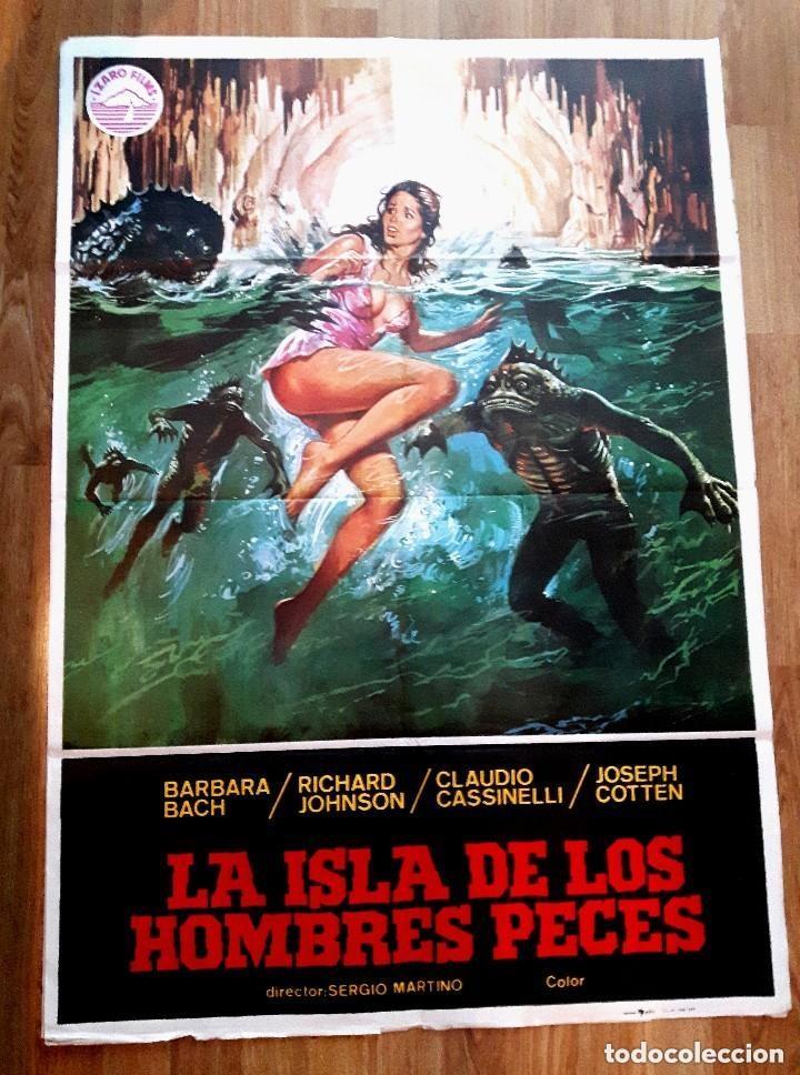 LA ISLA DE LOS HOMBRES PECES (1979) (Cine - Posters y Carteles - Terror)