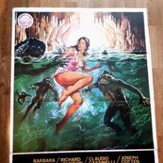 Cine: LA ISLA DE LOS HOMBRES PECES (1979). Lote 76622339